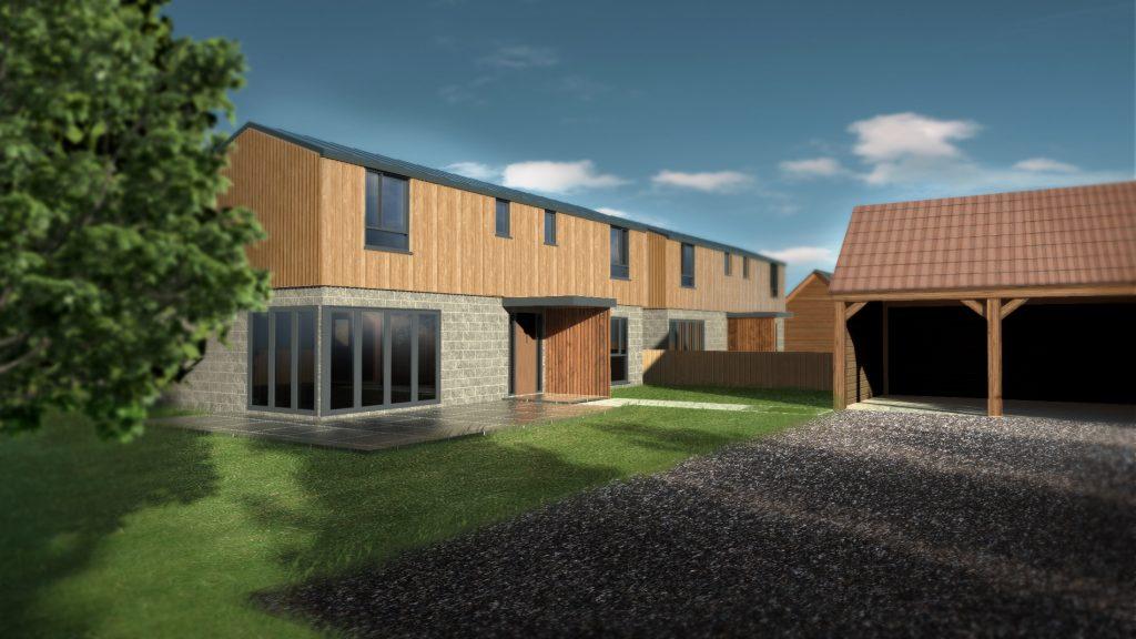 Four bedroom house in Stoke St Gregory by Cherwyn Developments